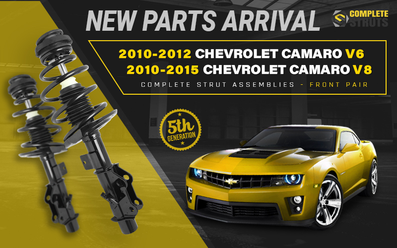 Chevrolet Camaro (Gen 5) Front Complete Struts - Now Available!