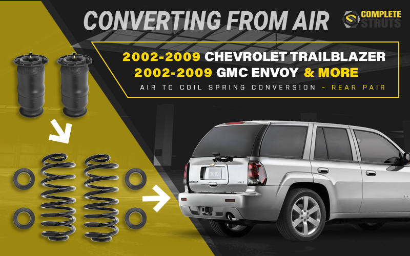 The Benefits of Converting to Passive Suspension From Air Suspension Systems - GM SUVs