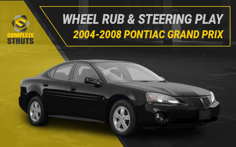 Common Suspension Problems for the 2004-2008 Pontiac Grand Prix